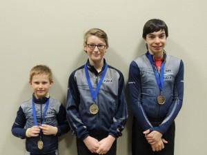 Brockville meet medalists