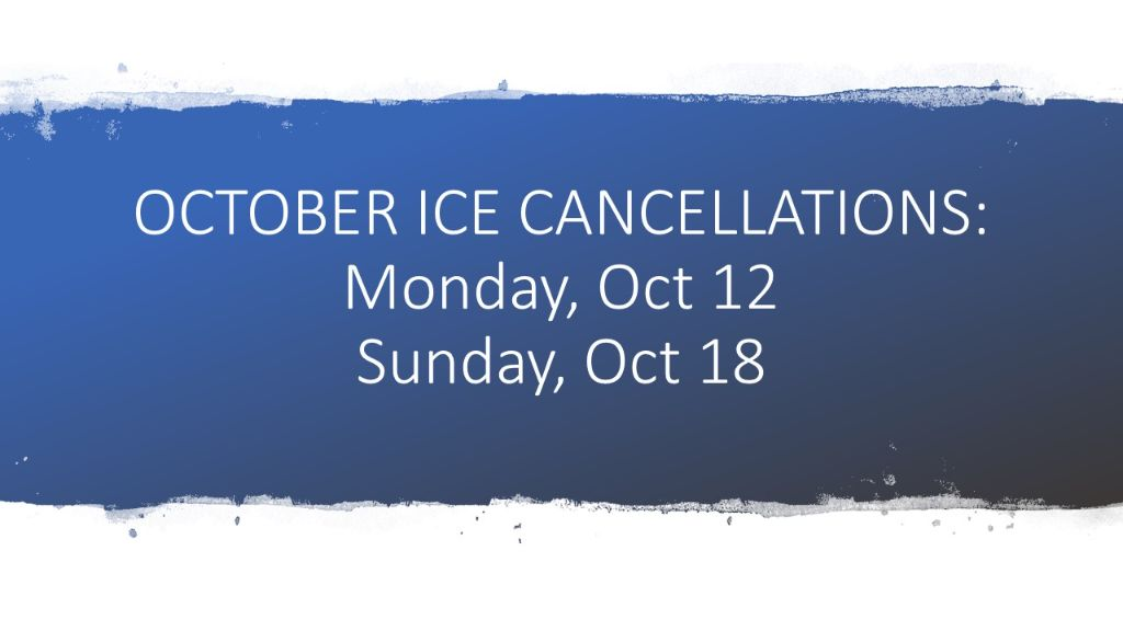Oct ice cancellation